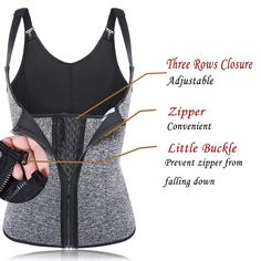 Where to buy a slimming vest? Find slimming body vest, body shaper vest, slimming vest tops, plus size waist trainer vest and other shaper vests on Newchic. Neoprene slimming vest and latex body shaper vest are on hot sale now. Sierra Leone, Waist Trainer Vest, Slimming Corset, Korea, Body Sculpting, Waist Cincher, Bra Styles, Perfect Body, Womens Fashion