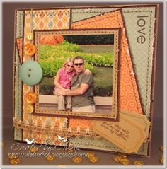 Father's Day card for my hubby.   For other similar projects, please see my blog, http://shestamps.blogspot.com/