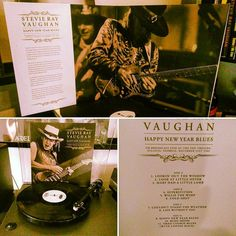 STEVIE RAY VAUGHAN HAPPY NEW YEAR BLUES Limited Vinyl 2LP Set  Overview: The concert featured on this deluxe vinyl release was taken from an FM radio broadcast, transmitted live from the Fox Theatre in Atlanta, Georgia, on New Year's Eve '86, was clearly a dynamic event. Stevie and Double Trouble perform with gusto and flare, whilst the audience are wild with ecstasy.