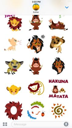 Disney Stickers: The Lion King on the App Store Lion King Game, Scar Lion King, Disney Princess Cartoons, Disney Cartoons, Disney Prices, Lion King Drawings, Pencil Drawings Of Animals, Simba And Nala, Le Roi Lion