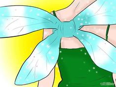 how to make a cheap tinkerbell costume