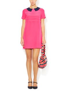 Marc by Marc Jacobs Bowery Silk Shift Dress
