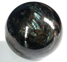Russian Astrophylite Crystal Ball