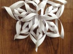 How to Make a Beautiful 3D Paper Snowflake
