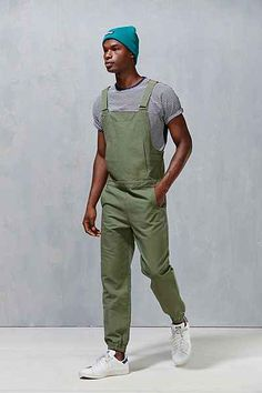Shades Of Grey By Micah Cohen Canvas Overall Jogger - Urban Outfitters