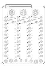 FREE Printable Winter Snowflakes Line Tracing Worksheets! Customer Number, Writing Numbers, Premature Baby, How To Be Outgoing, Interior Design Living Room, Preschool, About Me Blog, Tracing Worksheets, Handwriting