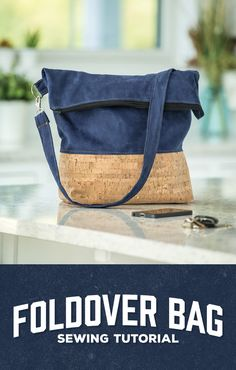 Make a Foldover Bag with Man Sewing's Rob Appell!