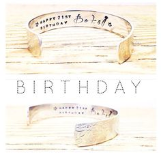 Personalised Birthday Gift - 18, 21, 30, 40, 50, Birthday Gift - Custom Jewellery by GlamAndCoJewellery on Etsy