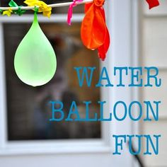 Water Balloon Fun Ideas - 15 fun ways to beat the heat this summer with water balloons - Spoonful