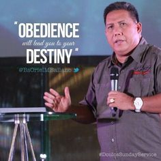 Obedience will lead you to your Destiny