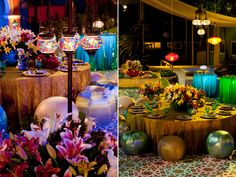 Cores vibrantes dão o tom da Festa Árabe