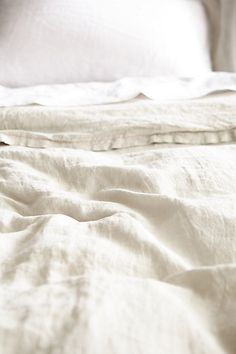 Soft-Washed Linen Duvet - anthropologie.com I would love a duvet, just any kind of duvet from anywhere.