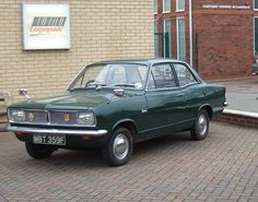 They were deemed as so slick when launched :-) VAUXHALL VIVA   Flickr - Photo Sharing! General Motors, Classic Motors, Classic Cars, Austin Cars, Automobile, Good Looking Cars, Cars Uk, Motor Scooters, Top Cars