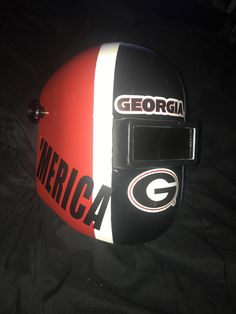 Reversible Georgia Bulldogs Welding hat georgia by KBsKottage ...