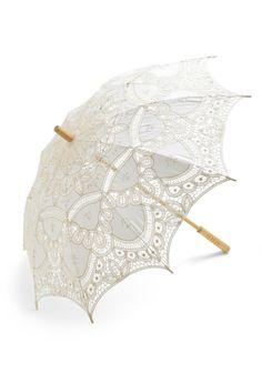 Vanilla Skies Parasol   Mod Retro Vintage Umbrellas   ModCloth.com