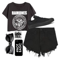 """""""Ramones outfit//Alli"""" by tie-dye-babes ❤ liked on Polyvore"""