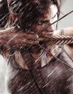 Lara Croft-tomb raider art,so cool. Tomb Raider Lara Croft, Mononoke Anime, Tableau Star Wars, Tom Raider, Rise Of The Tomb, Mary Sue, Fantasy Girl, Female Characters, Game Art