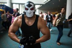 Bane at SDCC 2013 by Tested.com