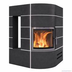 Fireplace Stove Norway Render