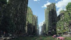 Lost City by Tony Andreas Rudolph | Matte Painting