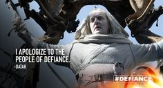 An apology that's too little too late. #Defiance