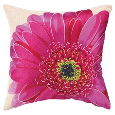 Gerbera Pillow II