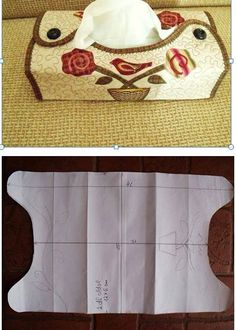 Sewing Box Fabric Gifts Ideas For 2019 Small Sewing Projects, Sewing Hacks, Sewing Tutorials, Sewing Crafts, Crochet Projects, Quilt Patterns, Sewing Patterns, Fabric Gifts, Tissue Box Covers
