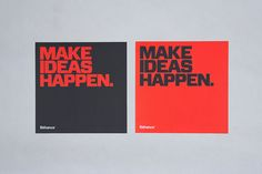 99% Conference 2012: Identity & Branded Materials on Behance