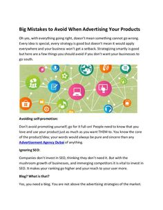 Big Mistakes to Avoid When Advertising Your Products I Am Special, Digital Media Marketing, Advertising Services, 3d Animation, Lead Generation, Uae, Mistakes, Planning, Globe