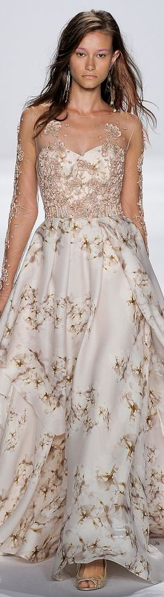 Badgley Mischka Spring Summer 2015 Ready-To-Wear collection jaglady