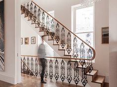 Handrail Creations, we design, manufacture and install hardwood handrails for residential and commercial projects of all sizes and designs. We bring your ideas to life – delivering the whole process first time, on time. Timber Handrail, Stair Handrail, Perfect Image, Perfect Photo, Love Photos, Cool Pictures, Wooden Stairs, Creative Design, Metal