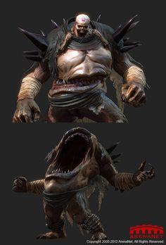 Guild Wars 2 Mouth of Zhaitan Fantasy Monster, Monster Art, Arte Horror, Horror Art, Creature Feature, Creature Design, Character Concept, Character Art, Dnd Monsters