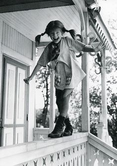 """Pippi Longstocking - one of my favourite books when I was a kid and one of my 1st """"role models"""" :p"""
