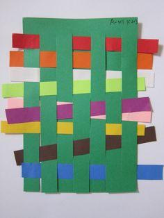 Froebel's Kindergarten! – Paper Weaving « we make art at ps10