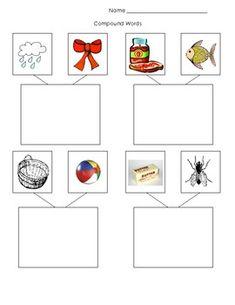 math worksheet : 1000 images about literacy  kindergarten on pinterest  compound  : Language Worksheet For Kindergarten