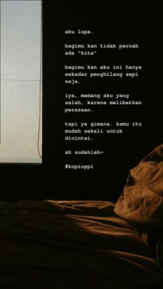 Quotes Rindu, People Quotes, Mood Quotes, Poetry Quotes, Daily Quotes, Best Quotes, Life Quotes, Art Qoutes, Cinta Quotes