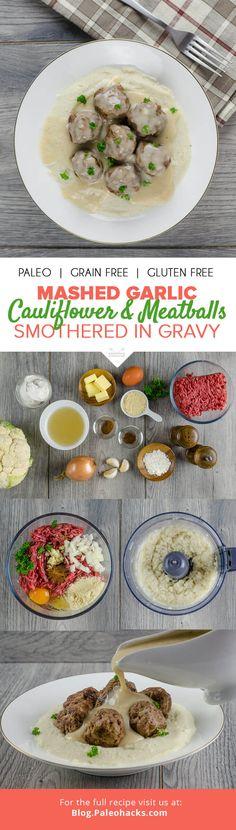 Cauliflower Puree, Get Thin, Paleo Dinner, Convenience Food, Eating Habits, Paleo Recipes, Ketogenic Recipes, Crockpot Recipes, Grain Free
