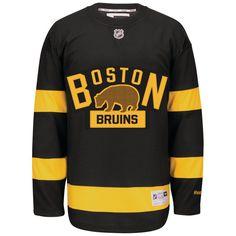 11e7504fd5d Boston Bruins Reebok Alternate Premier Jersey - Black