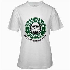 Funny T-Shirts (Star Wars Coffee) Great Gift Ideas for Adults, Women, Girls, & Teens, Collectible Novelty Shirts - Small - White BaBaLy http://www.amazon.com/dp/B008D37CSE/ref=cm_sw_r_pi_dp_4qYPub02PKSDT