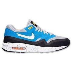 NEW Nike Air Max Lunar 1 Silver Photo Blue Retro Running Shoes 654469 001 SZ 8.5 #Clothing, Shoes & Accessories:Men's Shoes:Athletic #