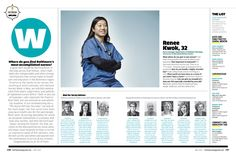 Baltimore Magazine. May 2015. Top Nurses. Photography by Chris Myers.