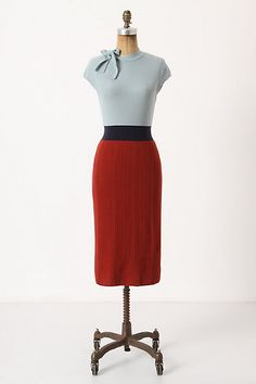 Anthropologie dress? i have a skirt just like this. just need a shirt to tuck in.