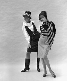 London 1960s Mary Quant outfits, photo by John French.