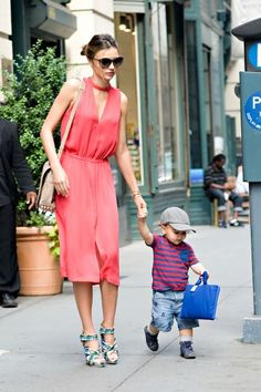 only miranda can be this stylish with flynn.