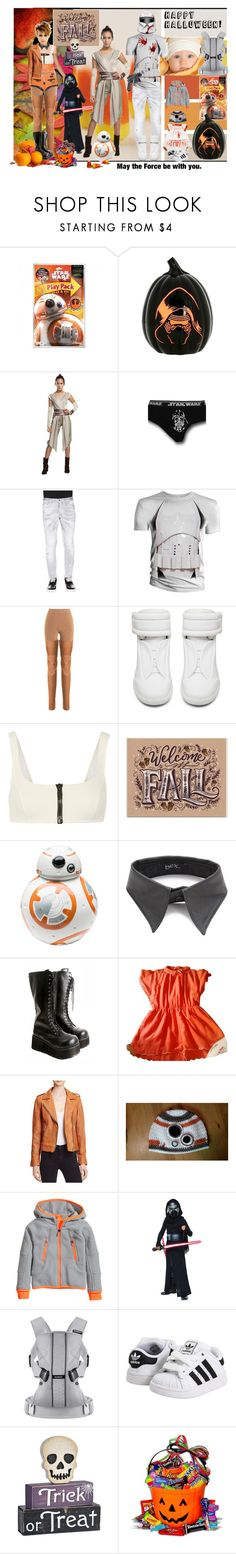 """Star Wars Family Halloween"" by verysmallgoddess ❤ liked on Polyvore featuring Episode, Buy Seasons, Dsquared2, Raquel Allegra, Maison Margiela, Frankie Morello, Lisa Marie Fernandez, Zak! Designs, BEX nyc and Demonia"