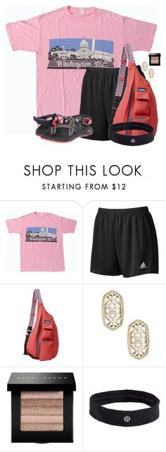 """3 months until Summer Camp!!! So excited!!"" by flroasburn on Polyvore featuring adidas, Kavu, Kendra Scott, Bobbi Brown Cosmetics, lululemon and Chaco"