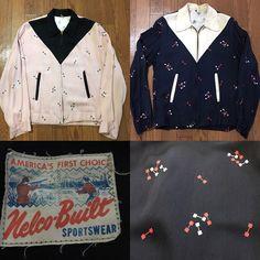50's Vintage Gabardine Jacket