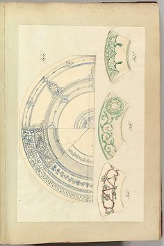 Alfred Henry Forrester [Alfred Crowquill]   Six Designs for Decorated Plates   The Metropolitan Museum of Art