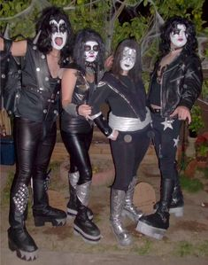 DIY KISS costume