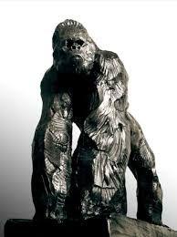 """Résultat de recherche d'images pour """"sculpture gorille bronze"""""""